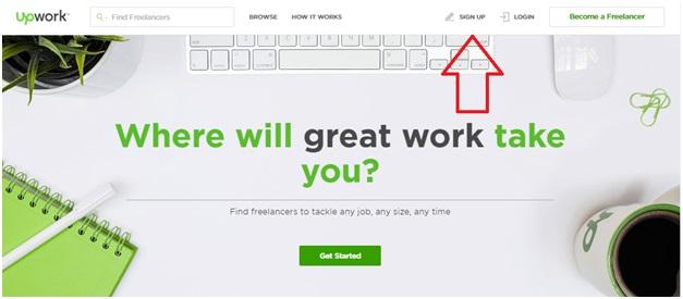 Upwork Sign-Up